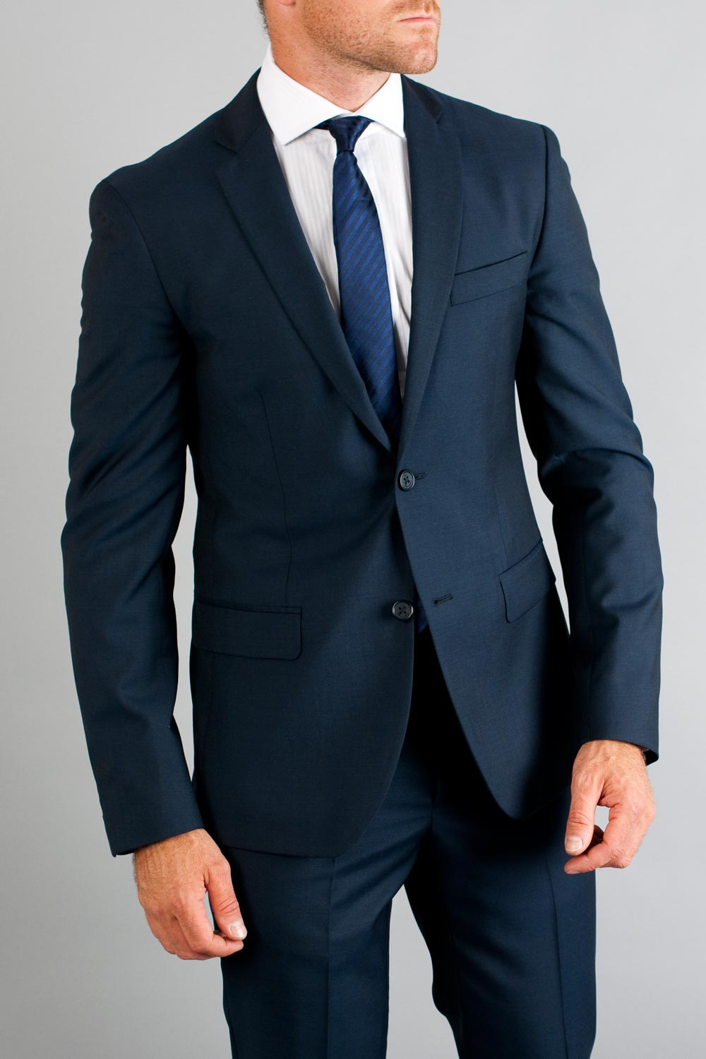 All Season Navy Suit