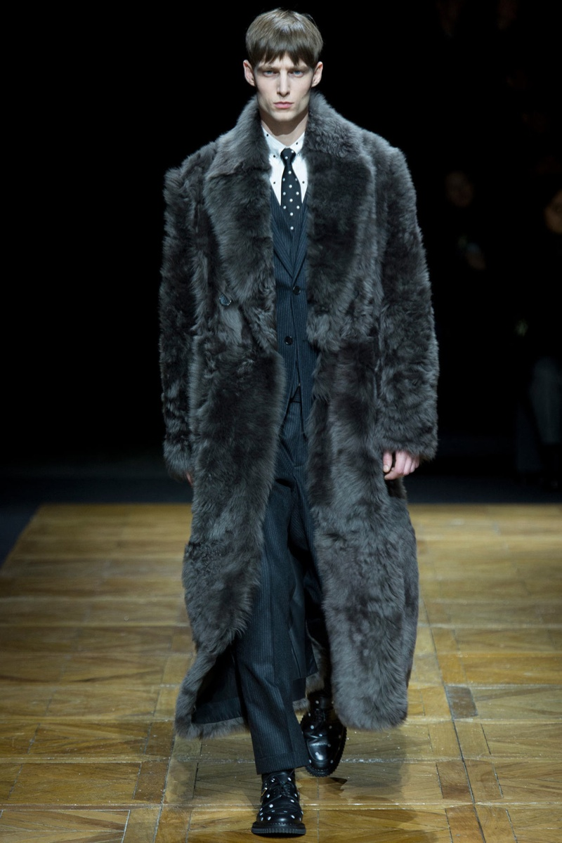 Fall Winter Fur Coats For Men
