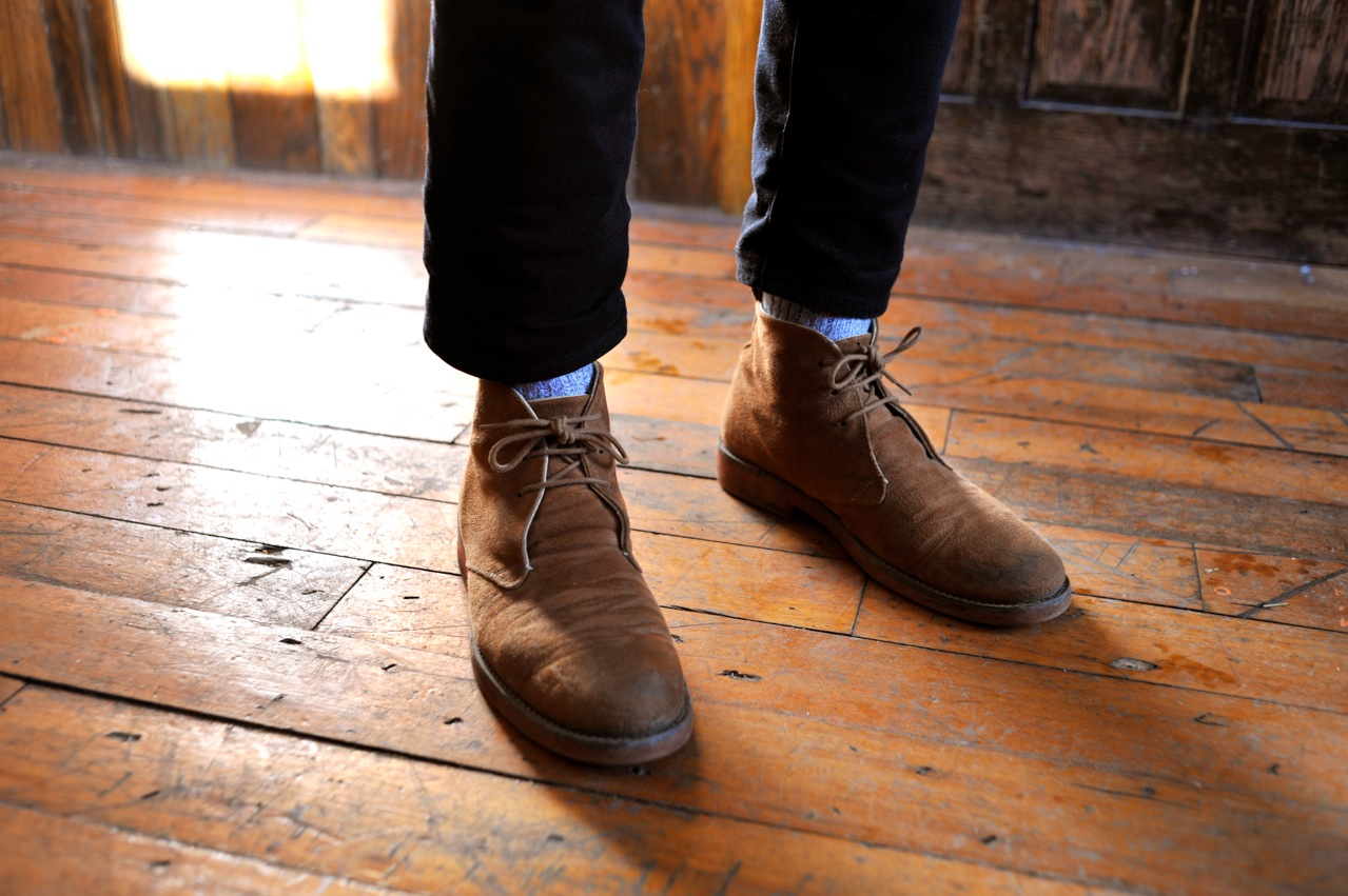 Leather Desert Boots