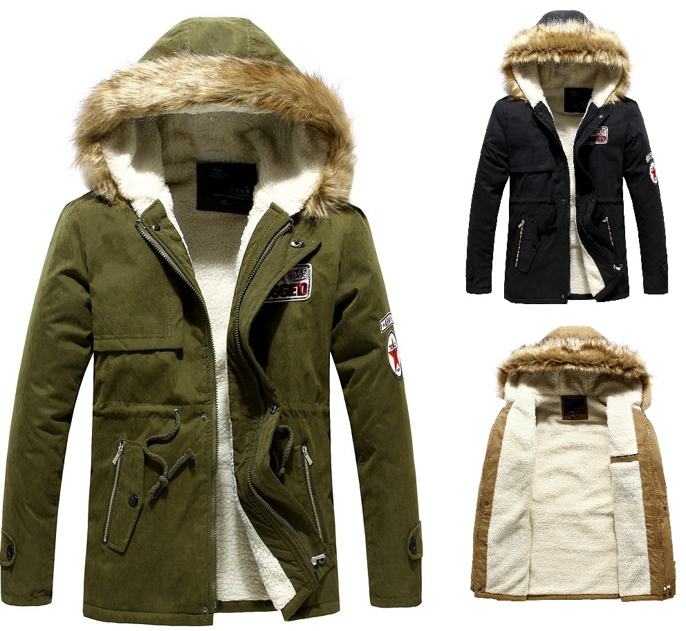 Parka Coats Designer Mens Covu Clothing