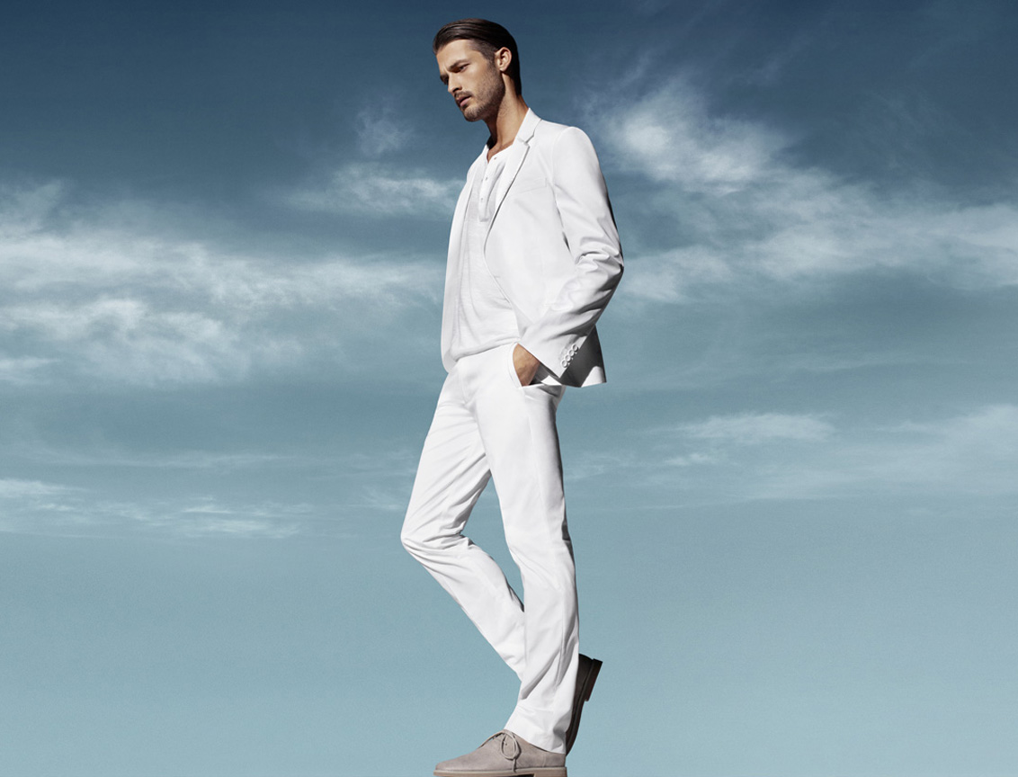 White shirt and White Trousers