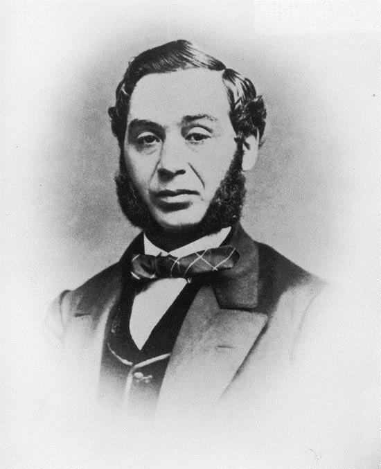 Portrait of Levi Strauss, circa 1850s. (Photo by Fotosearch/Getty Images).