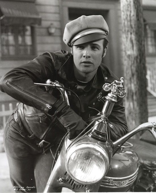 UNKNOWN: Actor Marlon Brando is seen in this undated photo for the movie The Wild One. Brando's attorney announced July 2, 2004 that the 80 year-old actor died in a Los Angeles, California hospital. (Photo by Getty Images)